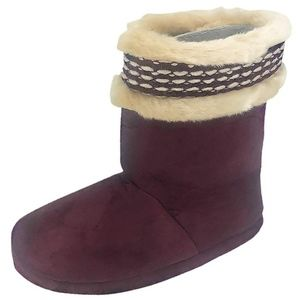 NEW Isotoner Woodlands Cozy Boot Slippers
